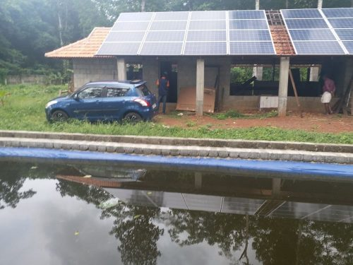 10kVA Solar Power Plant – With Powerful Offgrid Inverter at Chingavanam, Kottayam