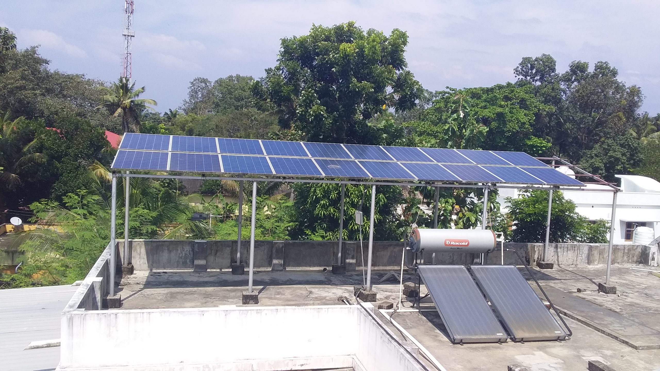 5kWp Solar Ongrid Power Plant at Chengannur, Alappuzha – with Efficient inverter Solar Companies in Pathanamthitta