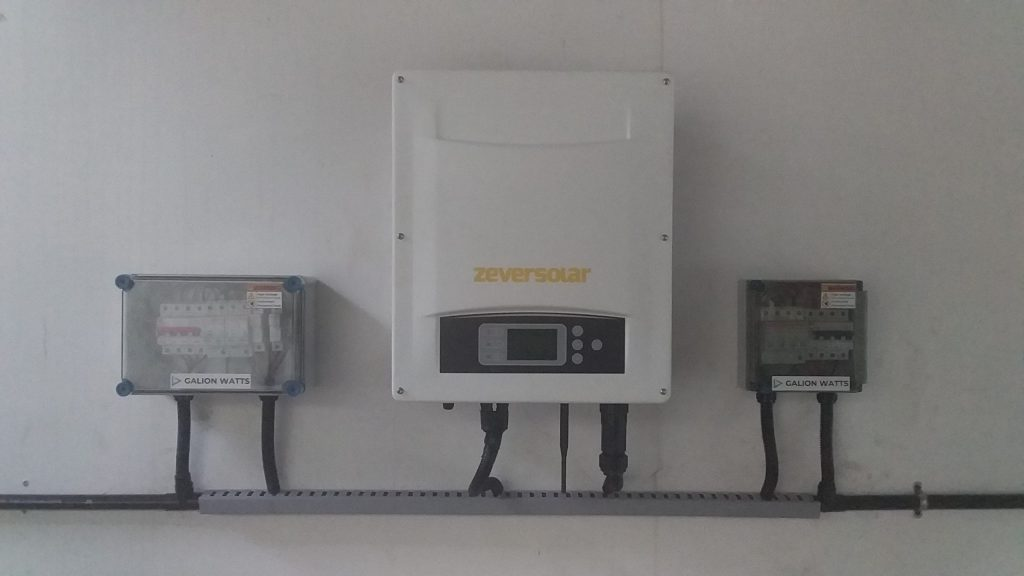 galion watts solar ongrid power plant