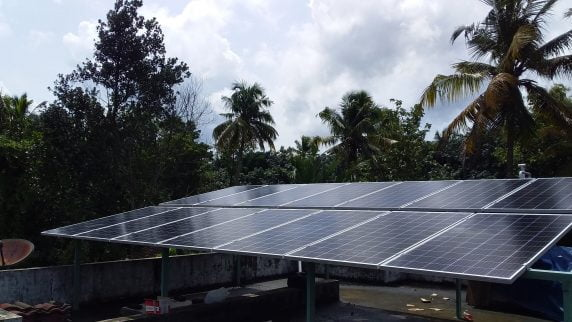5kW Solar Plant in Kothamangalam With Efficient Mono PERC Solar panels