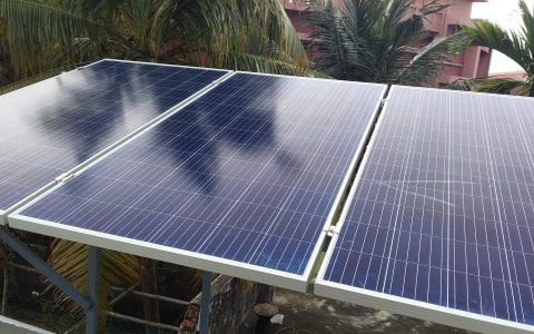 Solar Off grid Power Plant in Palluruthy Ernakulam