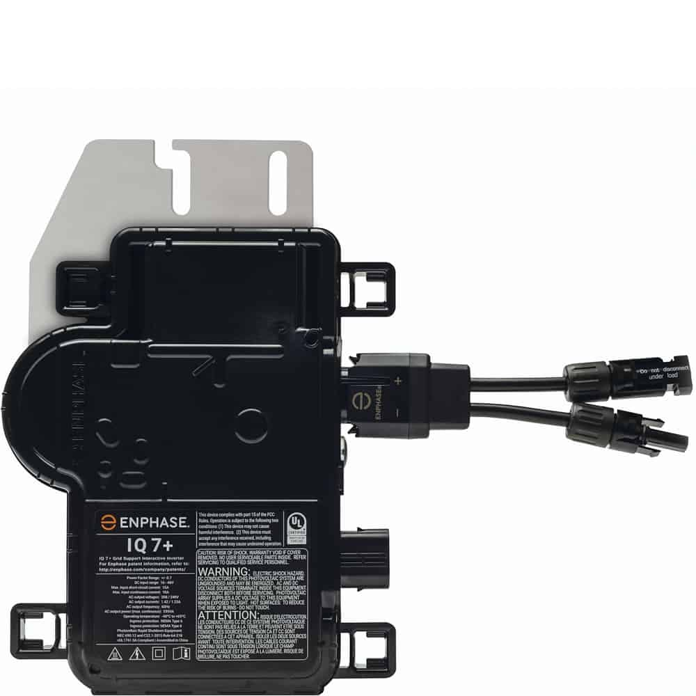 Enphase IQ 7 and IQ 7+ Microinverters