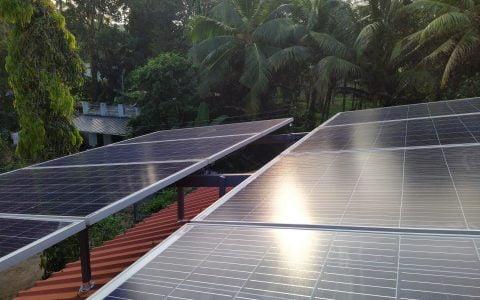 3kWp Solar Ongrid Power Plant at Haripad Alappuzha