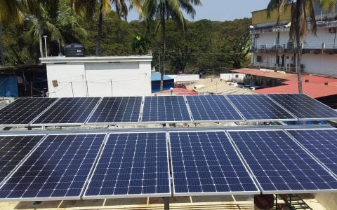 5 Kwp Solar Ongrid Power Plant at Trivandrum