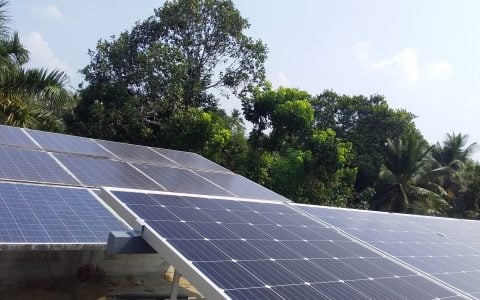5 Kwp Solar Ongrid Power Plant at Chenganoor Alappuzha Best Inverter