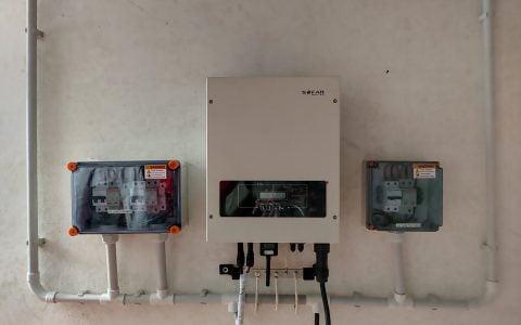 5 Kwp Solar Ongrid Power Plant at Chelad, Kothamangalam With India's Best Selling  Inverter