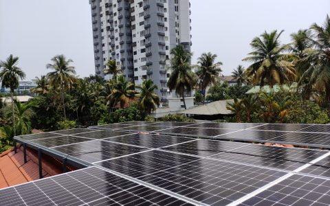10Kw Solar Ongrid Power Plant
