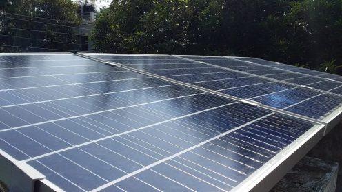 1kVA Solar Offgrid Power Plant – Vypin, Ernakulam – Strong Backup