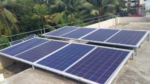 4kVA Solar Off grid Power Plant – With Powerful Solar Inverter Madavana, Ernakulam