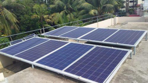 4kVA Solar Off grid Power Plant galion watts solar ongrid power plant