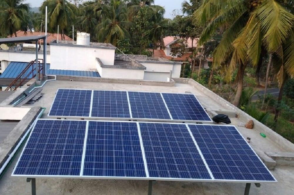 galion watts 5kVA Solar ongrid power plant
