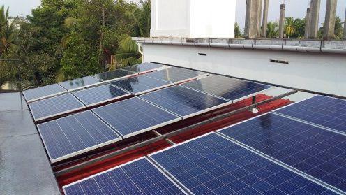 5kWp Solar Hybrid Power Plant at Panangad Kochi