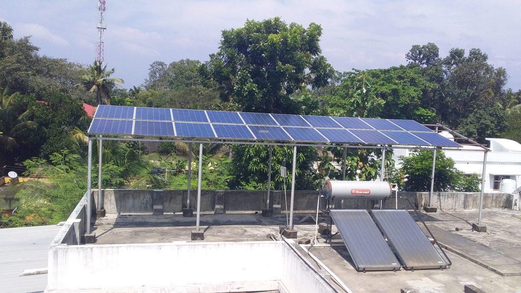 galion watts 5kwp solar ongrid power plant