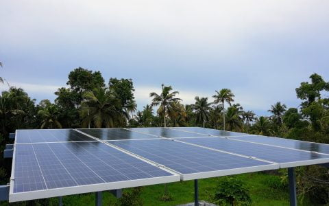 3kW Solar Ongrid Power Plant at Panangad