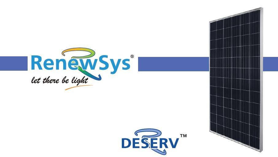 Renewsys Solar Panel