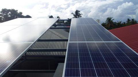 4 kw Ongrid Solar Power Plant at Venala Ernakulam Jinu James Venala ongrid power plant