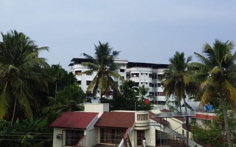 5kW Solar Ongrid Power Plant at Thykoodom Ernakualm Kerala
