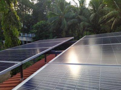 3kWp Solar Ongrid Power Plant at Haripad Alappuzha Sofar solar ongrid inverter, with Australian Solar panel of 335W, Harippad, Kerala
