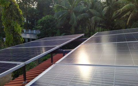 3kWp Solar Ongrid Power Plant at Haripad Alappuzha