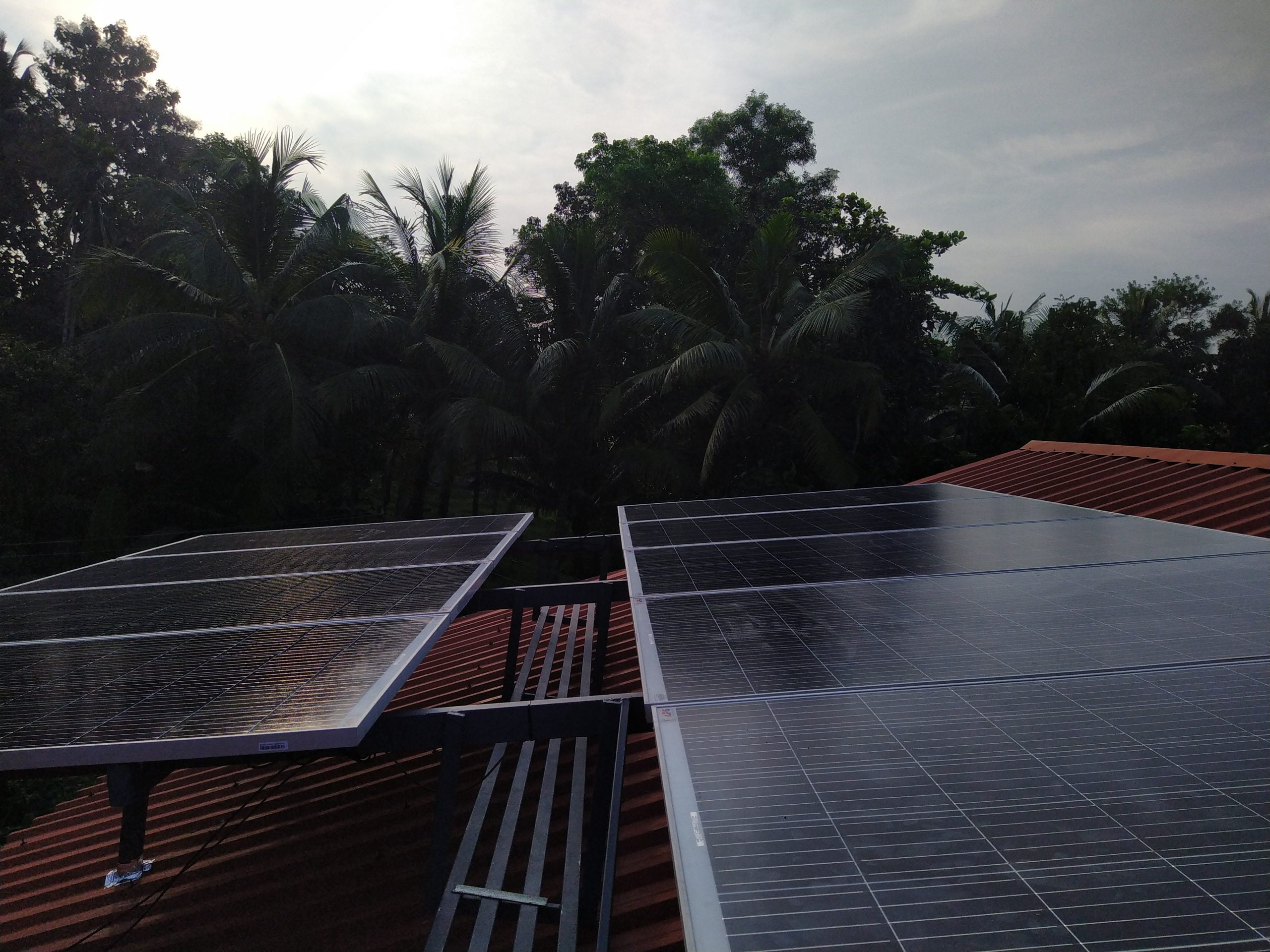 Sofar solar ongrid inverter, with Australian Solar panel of 335W, Harippad, Kerala