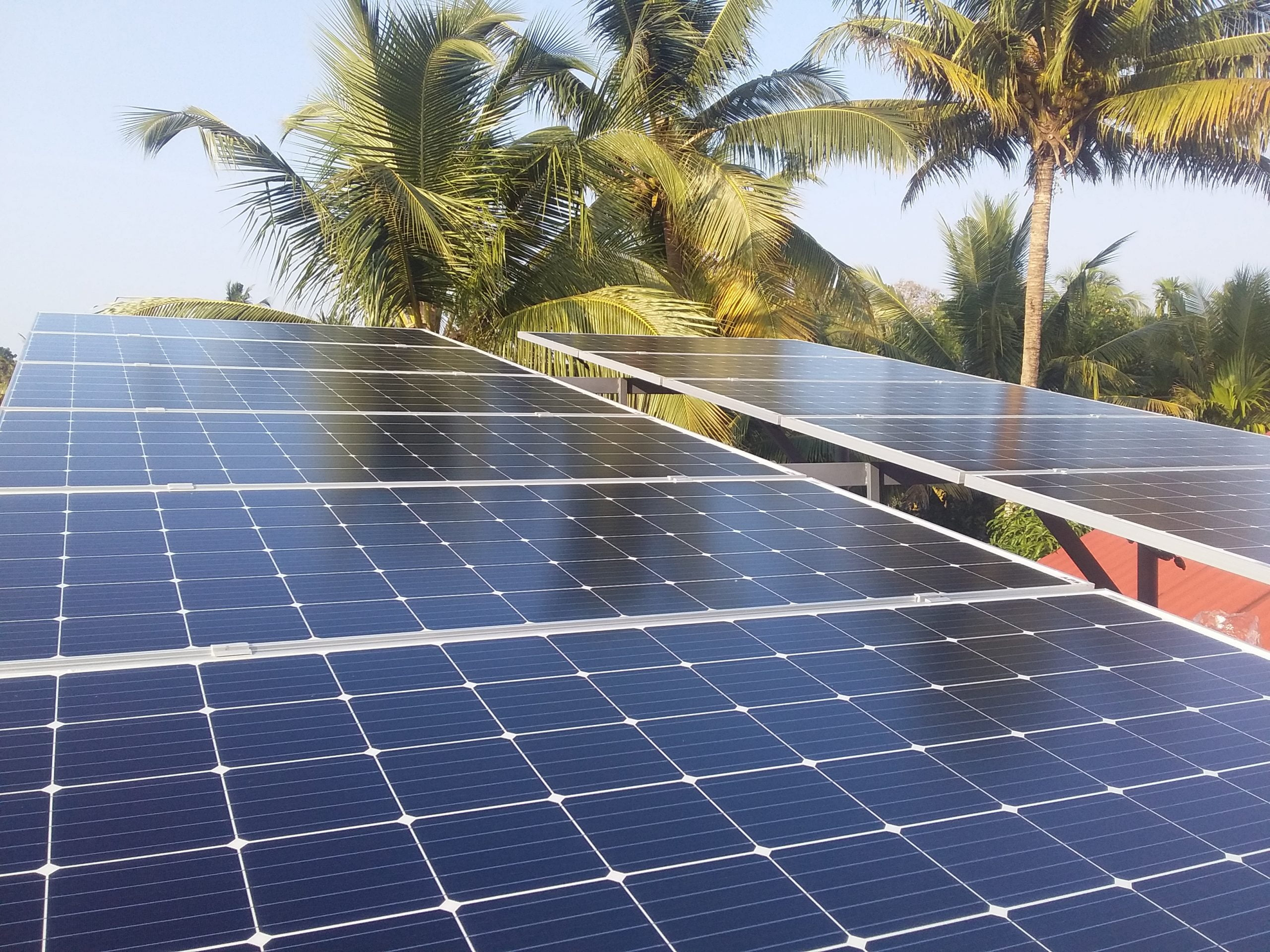 5 Kwp Solar On grid Power Plant At Chembakkulam Alappuzha 2