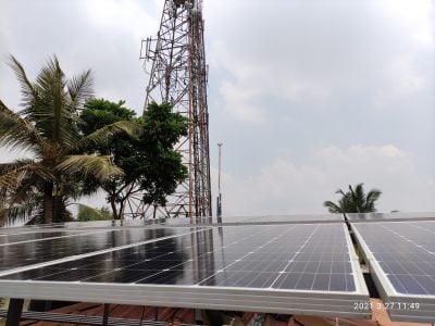 5Kw Solar Ongrid Power Plant at Thripunithara 3