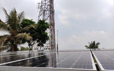 5Kw Solar Ongrid Power Plant at Thripunithara