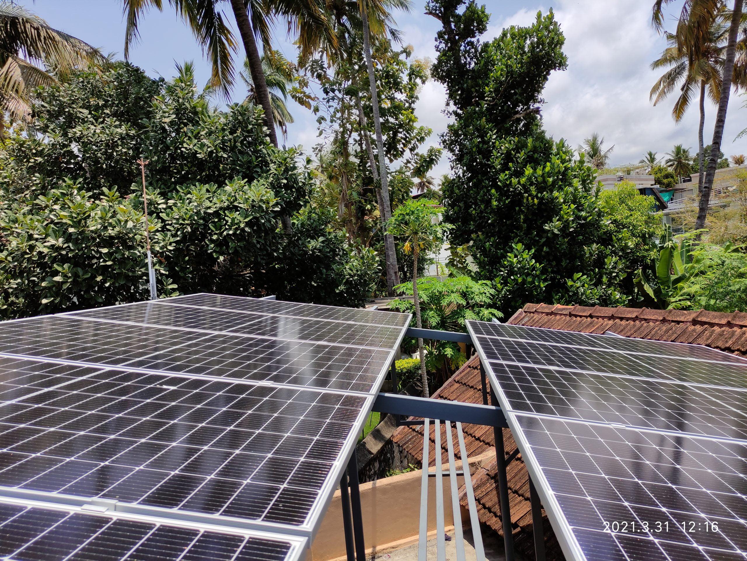 Solar Power Plant at Trivandrum 2