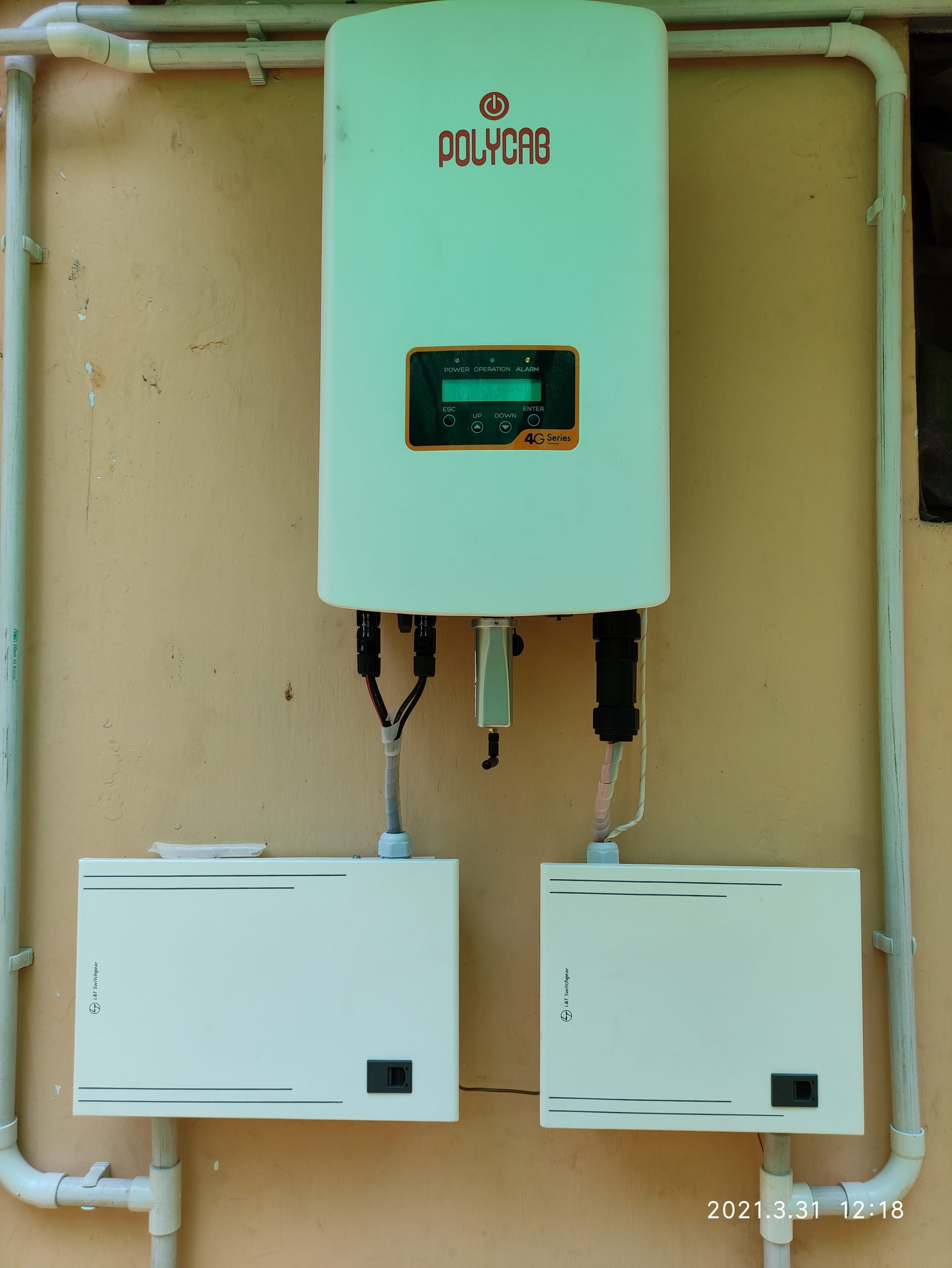 Solar Power Plant at Trivandrum