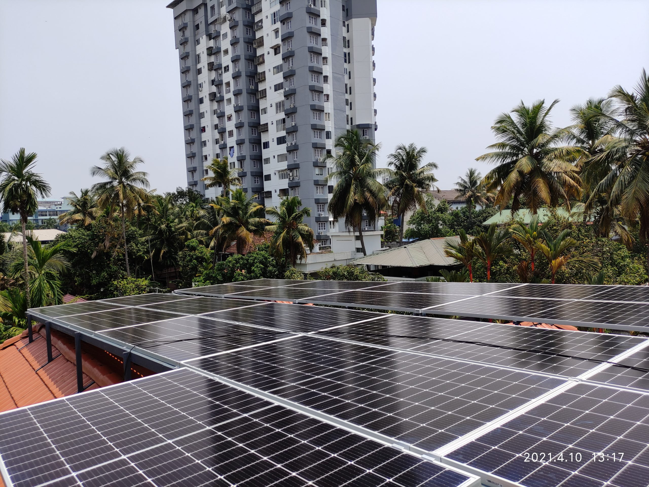 10Kw Solar Ongrid Power Plant