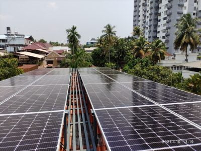 10kVA Solar Power Plant - With Powerful Offgrid Inverter at Chingavanam, Kottayam 4
