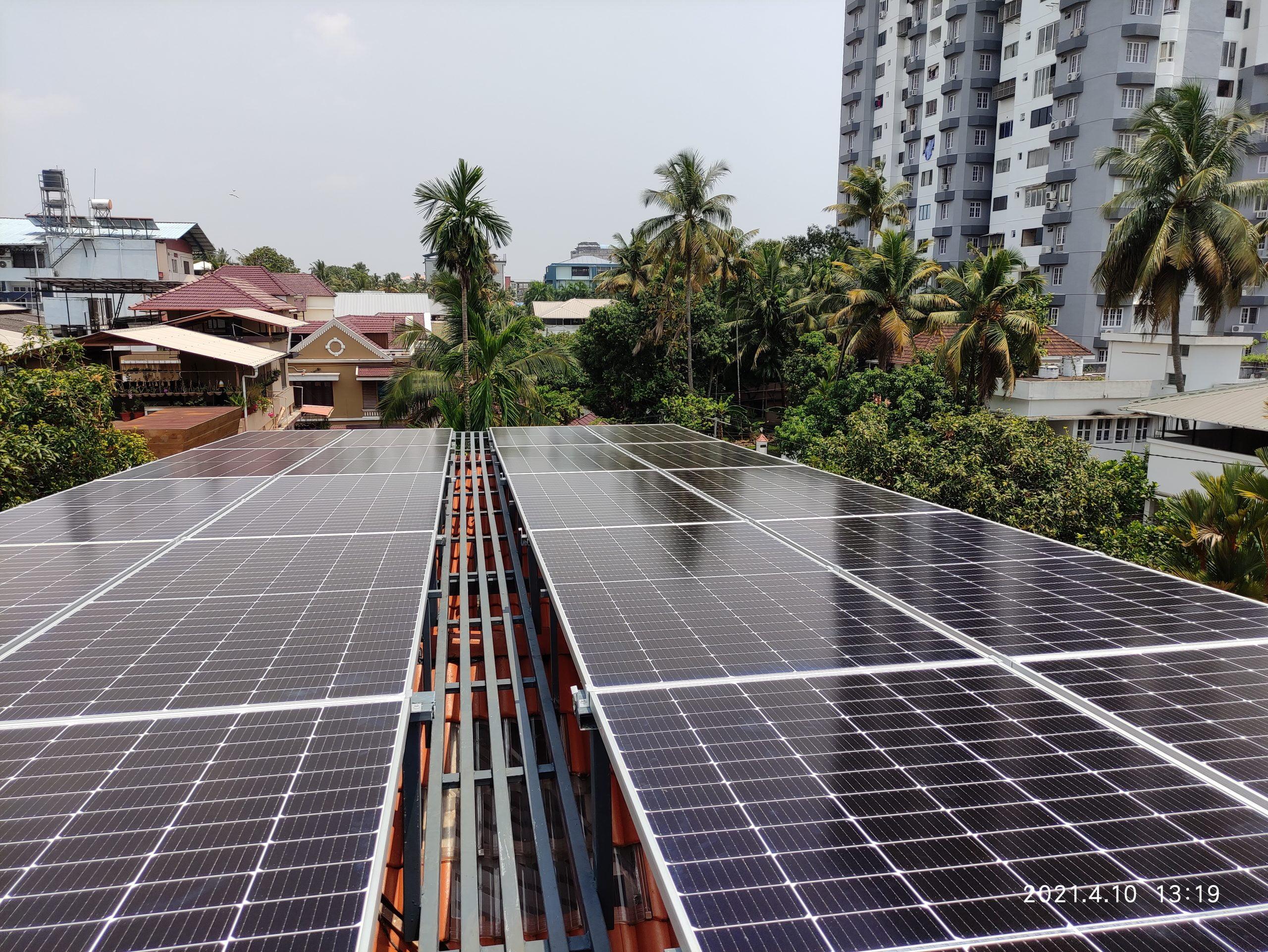10Kw Solar Ongrid Power Plant 4