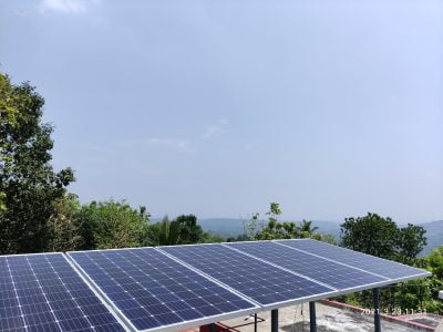 Solar Off grid Power Plant in Palluruthy Ernakulam 1