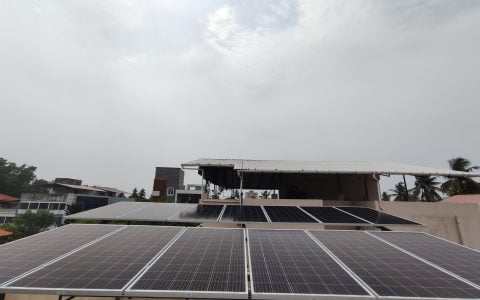5Kwp Solar Ongrid Power Plant at Girinagar