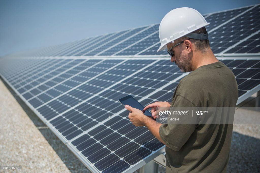 solar ongrid power plant in panagad