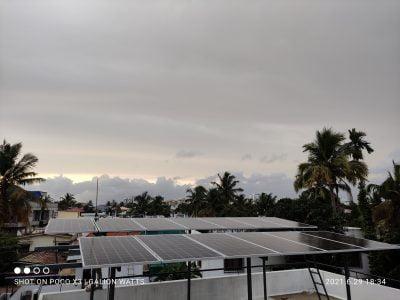 5kw Solar plant at Thevara Kochi 1